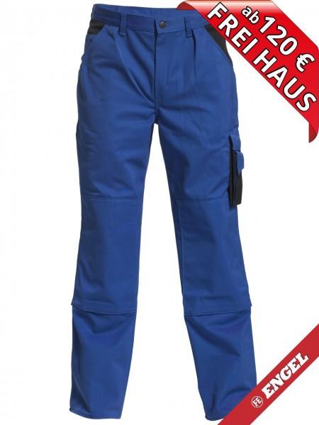Bundhose Arbeitshose Enterprise zweifarbig FE ENGEL 2600-785 azurblau