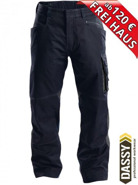 Arbeitshose Service Bundhose DASSY® Spectrum D-FX 200892 nachtblau