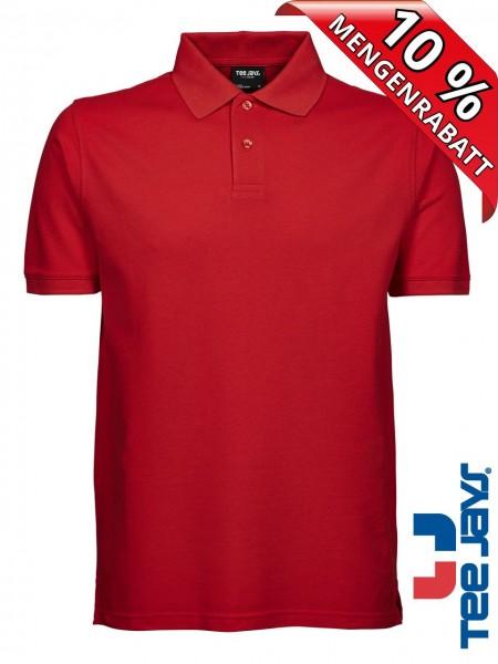 Herren Workwear Polo Shirt Heavy Baumwolle Piqué 1400 Tee Jays rot