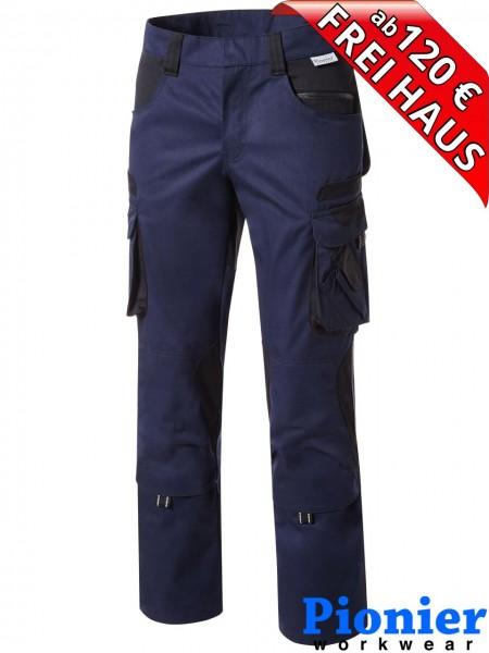 Bundhose Arbeitshose marine / schwarz TOOLS Pionier Workwear 5342