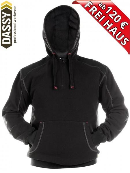 Kapuzen Sweat Shirt Pullover INDY DASSY DNA 300318 Sweater schwarz