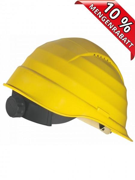 ROCKMAN C6 Schutzhelm Bauhelm 6-Punkt-Aufhängung Drehverschluss 4009