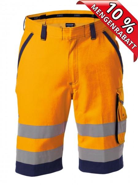 Warnschutz Short kurze Arbeitshose LUCCA DASSY 250059 orange/blau