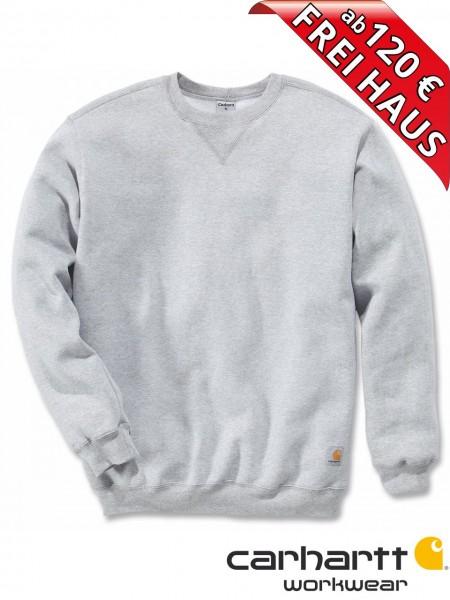 Carhartt Sweatshirt Midweight Crewneck Sweat Shirt K124 grau