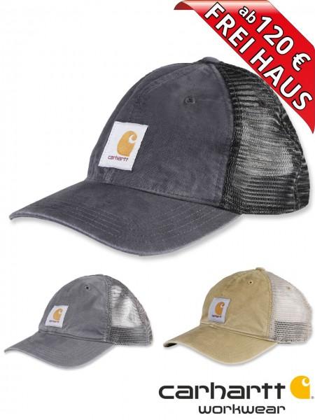 Carhartt Mesh Cap Mütze Schirmmütze Netz BUFFALO 100286 schwarz grau