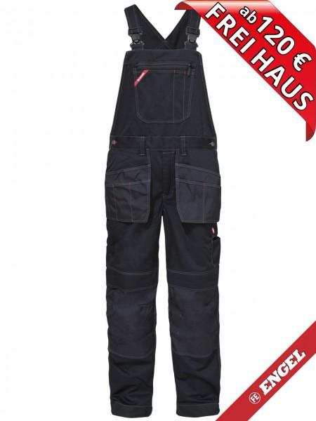 Arbeitslatzhose Latzhose Holstertaschen COMBAT FE ENGEL 3761-630 schwarz