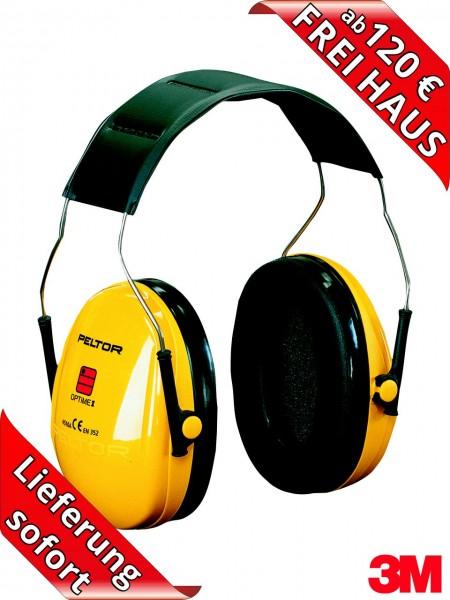 3M Peltor Gehörschutz Optime I Kapselgehörschutz H510A SNR 27 dB
