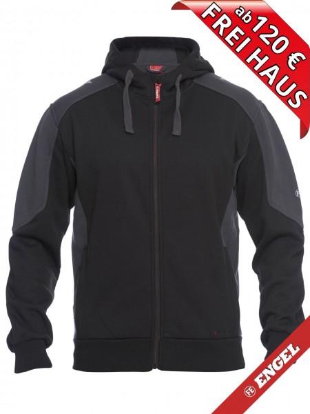 Sweat Jacke Cardigan Kapuzenjacke GALAXY 8820-233 FE ENGEL schwarz grau