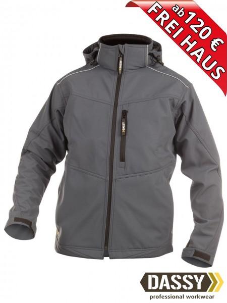 Softshell Jacke grau wasserdicht Softshelljacke TAVIRA DASSY 300304