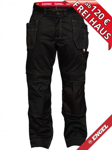 Arbeitshose Handwerkerhose Hose COMBAT FE ENGEL 2761-630 schwarz