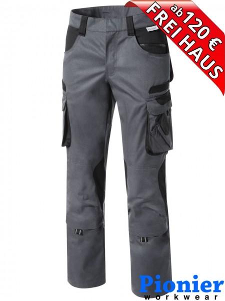 Damen Bundhose Arbeitshose grau / schwarz TOOLS Pionier Workwear 5741