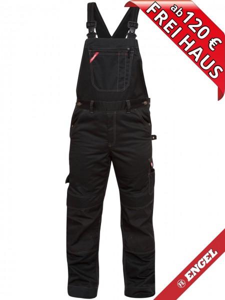 Arbeitslatzhose Latzhose Baumwolle COMBAT FE ENGEL 3760-575 schwarz