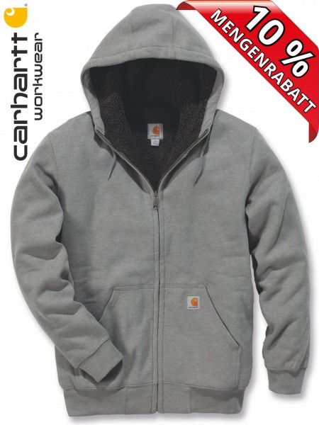 Carhartt Kapuzenjacke Fleece-Futter Hooded Sweat Shirt 100072 grau