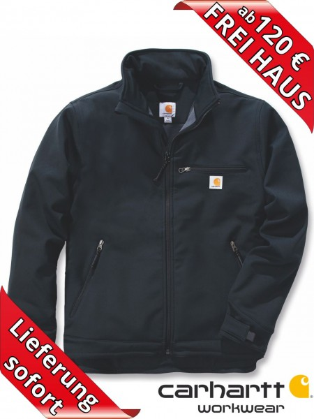 Carhartt Crowley Jacket Herren Softshell Jacke 101299 schwarz