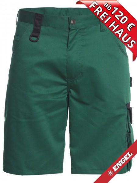 Shorts zweifarbig kurze Arbeitshose Light FE ENGEL 6270-740 grün/schwarz