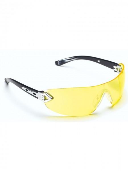 Schutzbrille Bügelbrille HENG gelb UNICO Jesse Glover