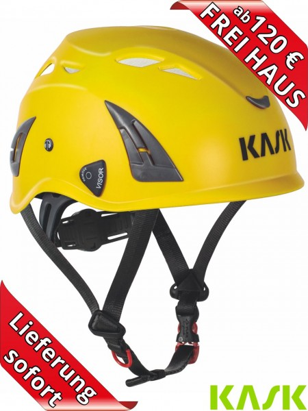 KASK Industrie Helm PLASMA AQ Schutzhelm Bauhelm Work EN397 gelb