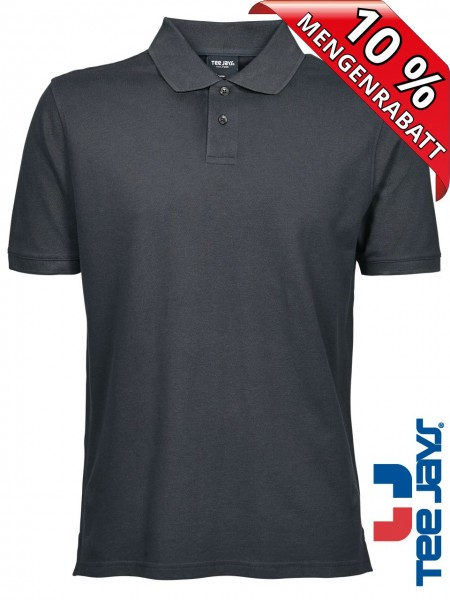 Herren Workwear Polo Shirt Heavy Baumwolle Piqué 1400 Tee Jays anthrazit
