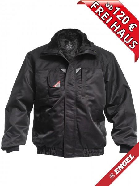 Pilotjacke Winterjacke Jacke mit Faserpelz FE ENGEL 1170-912 schwarz