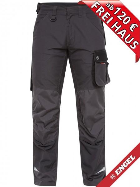 Arbeitshose Bundhose Hose GALAXY 2810-254 FE ENGEL grau schwarz