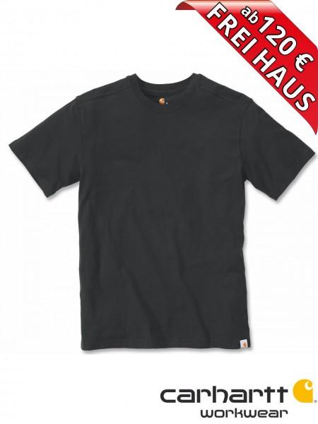 Carhartt T-Shirt Maddock Short Sleeve Workwear Shirt 101124 schwarz