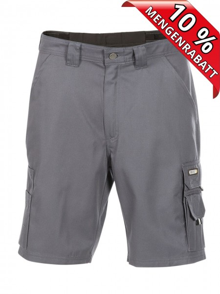 DASSY® BARI kurze Arbeitshose Bundhose Short workwear 250011 grau