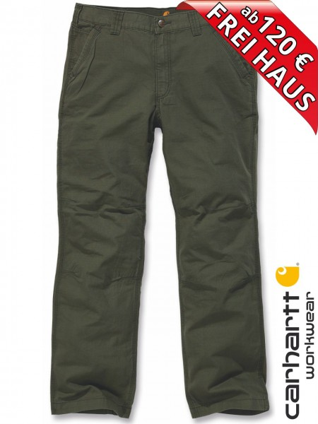 Carhartt leichte Sommer Arbeitshose TACOMA Ripstop Pant 100274 ARMY GREEN