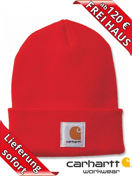 Carhartt Strickmütze Watch Hat Beanie Wintermütze Mütze A18 orange