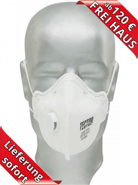 Feinstaubmaske FFP3 Atemschutzmaske mit Ventil Tector 4206