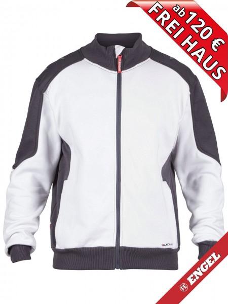 Sweat Jacke Cardigan Sweatshirtjacke GALAXY 8830-233 FE ENGEL weiss grau