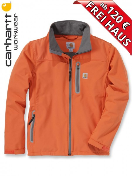 Carhartt Denwood leichte Softshell Jacke Herren 101739 orange