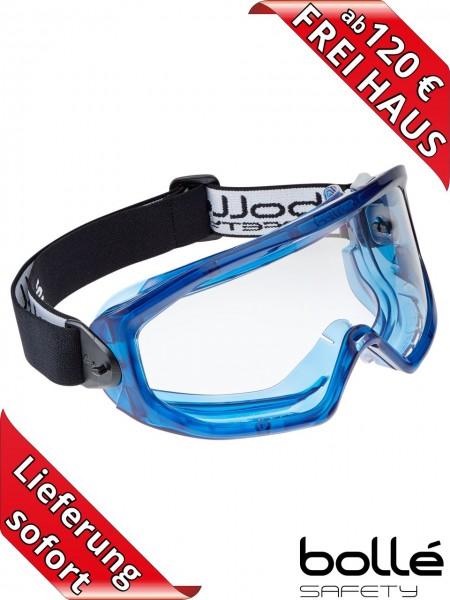 Bollé Safety Vollsichtschutzbrille SUPERBLAST belüftet Visier SUPBLAPSI