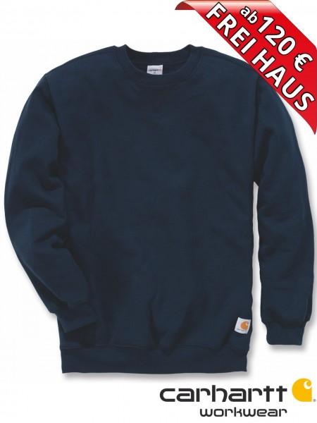 Carhartt Sweatshirt Midweight Crewneck Sweat Shirt K124 navy