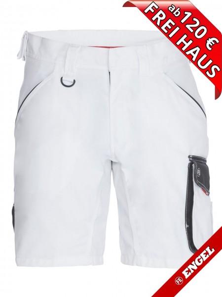 Shorts kurze Arbeitshose Bundhose GALAXY 6810-254 FE ENGEL weiss grau