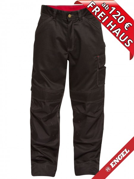 Arbeitshose 100 % Baumwolle Bundhose COMBAT FE ENGEL 2760-575 schwarz
