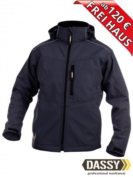 Softshell Jacke blau wasserdicht Softshelljacke TAVIRA DASSY 300304
