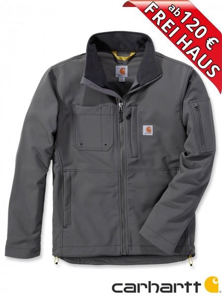 Carhartt Rough Cut Jacket Stretch Nylon Jacke Softshelljacke 102703 grau