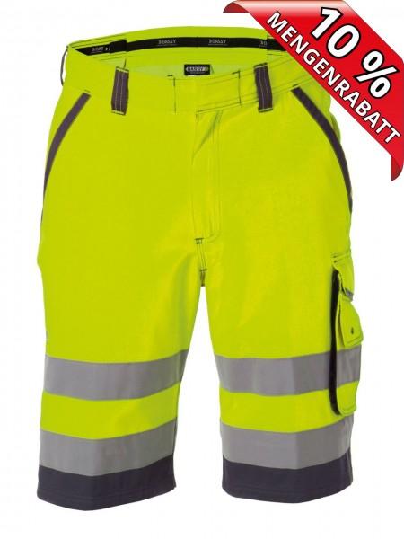 Warnschutz Short kurze Arbeitshose LUCCA DASSY 250059 gelb/grau