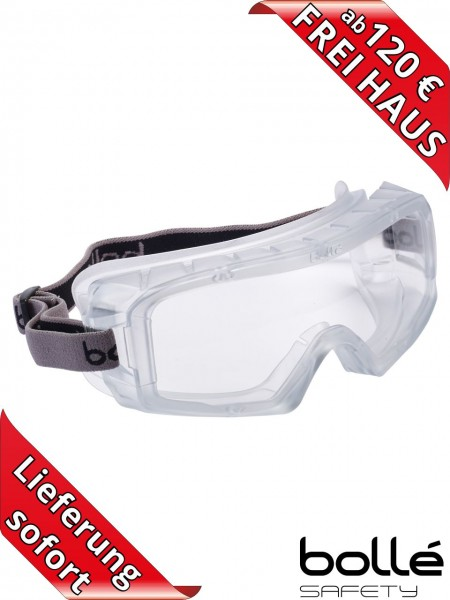 Vollsichtschutzbrille COVERALL Bollé Safety Brille belüftet COVARSI