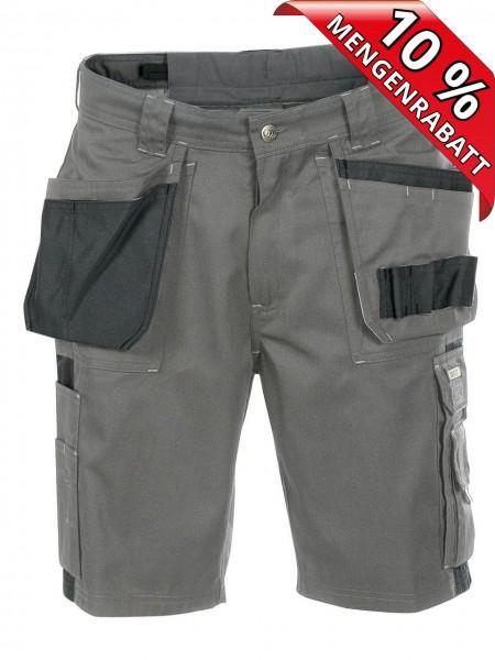 Short kurze Arbeitshose zweifarbig DASSY® Monza 250012 grau schwarz