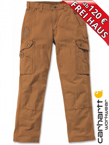 Carhartt B342 Ripstop Cargo Work Pant Arbeitshose Workwear Hose braun