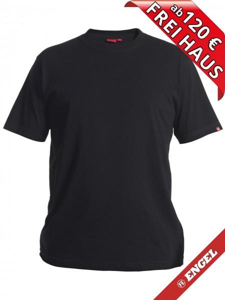 T-Shirt Workwear Mischgewebe Rundhals FE ENGEL 9054-559 schwarz