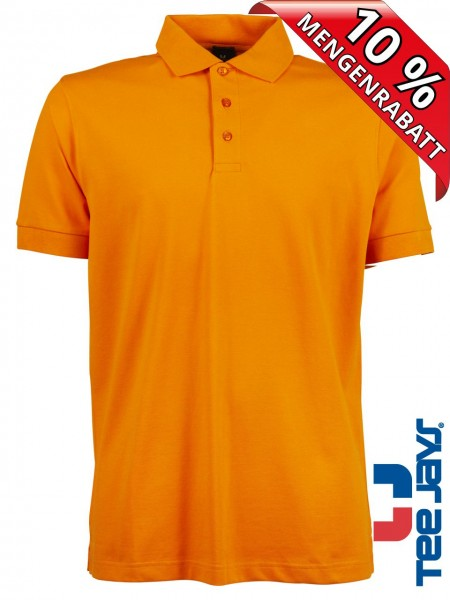 Stretch Herren Polo Shirt Deluxe 1405 Tee Jays orange