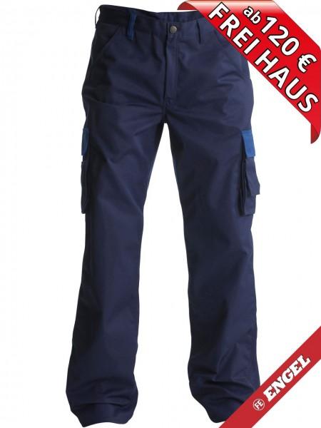 Servicehose Arbeitshose Light zweifarbig FE ENGEL 2280-745 marine blau