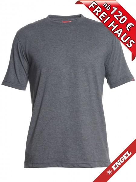 T-Shirt Workwear Mischgewebe Rundhals FE ENGEL 9054-559 anthrazit grau
