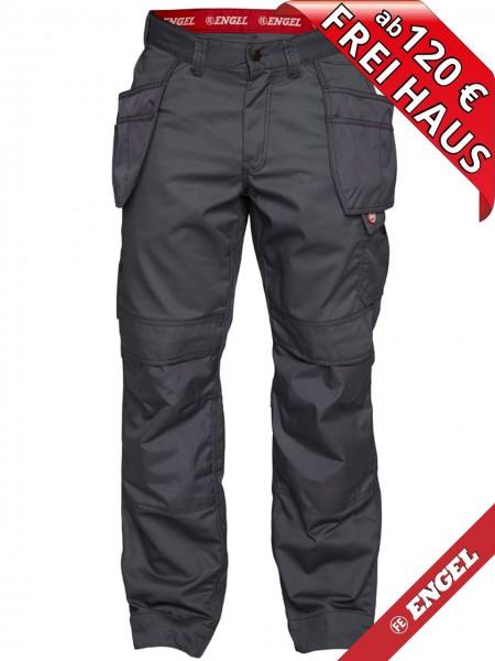 Arbeitshose Handwerkerhose Hose Taschen COMBAT FE ENGEL 2761-630 grau