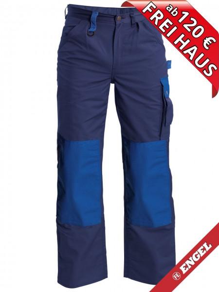 Bundhose Arbeitshose Light zweifarbig FE ENGEL 2270-745 marine/azurblau