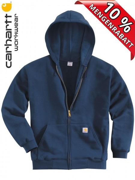 Carhartt Kapuzenjacke Zip Hooded Sweatshirt Jacke K122 Kapuze Dunkelblau