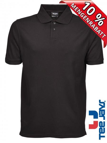 Herren Workwear Polo Shirt Heavy Baumwolle Piqué 1400 Tee Jays schwarz