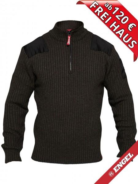 Strickpullover Pullover mit hohen Kragen COMBAT FE-ENGEL 8017-501 anthrazit